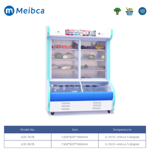 Vegetable Display Storage Cooler Commercial For Sale